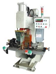 (定位支架)与(外管)浮凸焊机