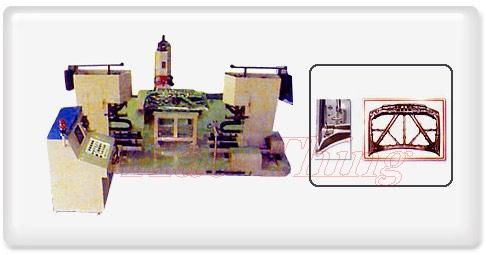 引擎盖板金配件组装NC多点焊接机