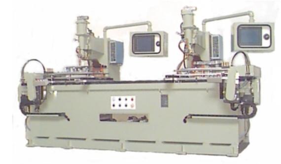 双XY轴NC固定引擎盖配件自动点焊机