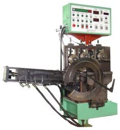 機車輪圈自動卷圓切斷機