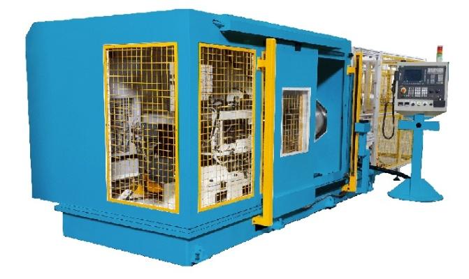 CNC雙端錐伺服旋壓機