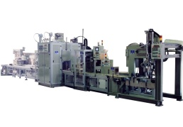 壓縮機本體組立生產線