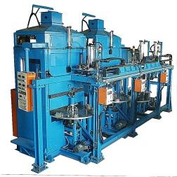 壓縮機上、下蓋、底座銲接自動化生產線