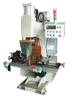 (油管支架)與(外管) 浮凸焊機