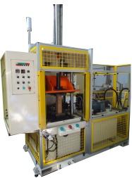End diameter reducing machine