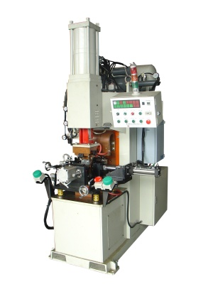 Projection Welding Machine III: (bracket assembly) & (U-type support)