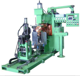 Seam welding machine-for truck fuel tank /water cap