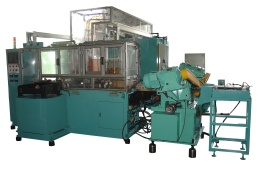 Full Automatic NC Hardening / Annealing / Straightening M/C for the Connection Rod of Shock Absorber