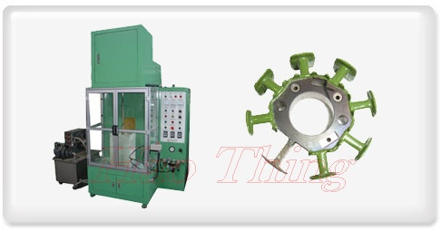 H.F. Epoxy Powder Coating Machine
