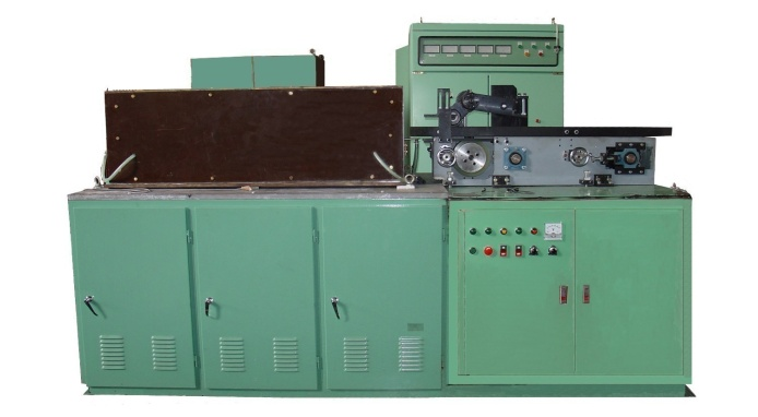MF end induction heating machine