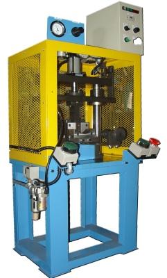 Máy cắt bộ phận dư của vỏ ống.