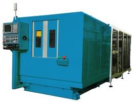 Máy xoay ép CNC Servo.