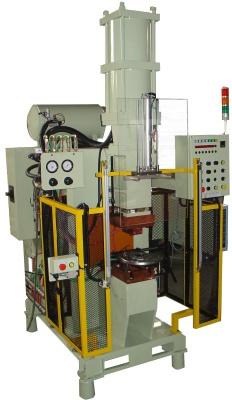 Máy ép nhiệt trực lưu 3 pha 180KVA : Tấm mâm + Bệ đở bơm thủy lực.
