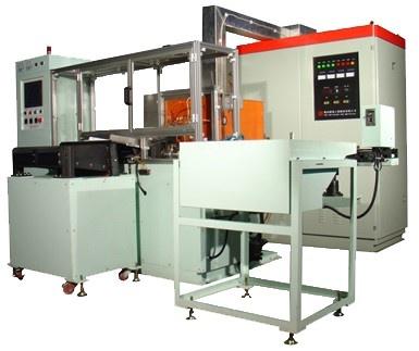 Máy gia nhiệt cao tần NC toàn  tự động (Đông cứng) trục tâm kiểu ngang tinh thể.