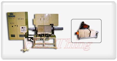 Máy gia nhiệt trung tần dung chảy ống thép inox.