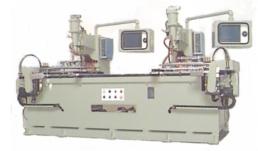 Máy hàn điểm tự động : hàn phụ kiện nấp đậy máy cố định NC trụ XY.
