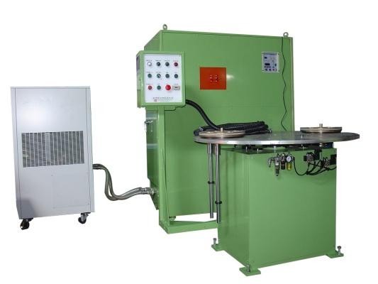 Máy phối nhiệt võ mô tơ và trục điện mô tơ trung tần