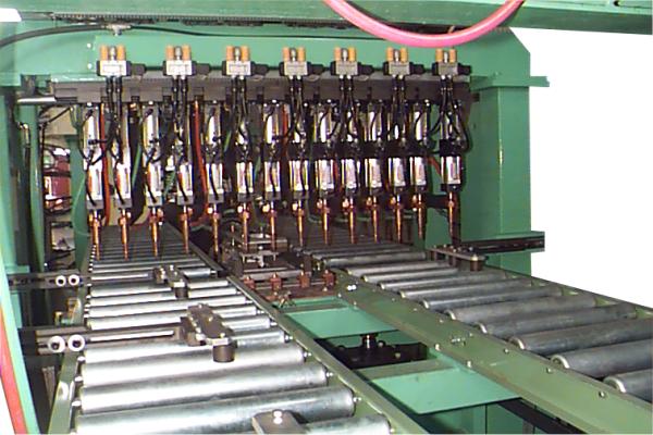 Máy hàn đa điểm cho thân hộp bàn OA