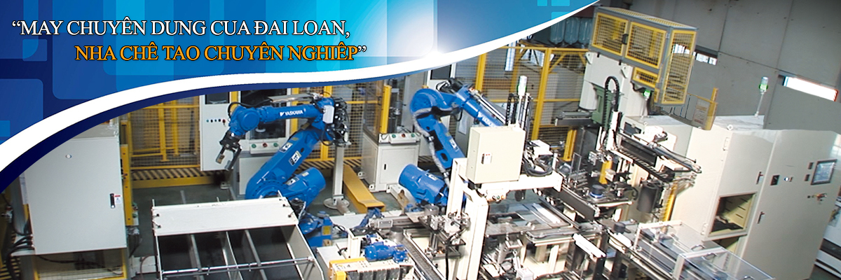Catalytic Converter Robot Auto canning production line-Taiwan